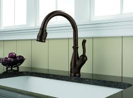 Single Handle Pull Down Kitchen Faucet Delta 9178 Rb Dst Leland Single Handle Pull Down Kitchen Faucet