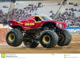 monster jam madusa truck iron man monster truck editorial stock photo image 24842273