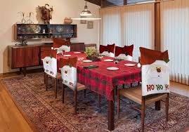 dining table chair covers dining room chair covers for christmas ho installers design ideas