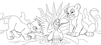 lion king coloring page 2 mimi alves