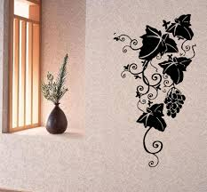 wall decals vinyl decal sticker art murals floral decor grape vine wall decals vinyl decal sticker art murals floral decor grape vine branch kj391 muralartdecals