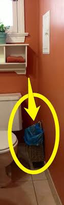 Top  Best Bathroom Trash Cans Ideas On Pinterest Trash Can - Bathroom trash bags