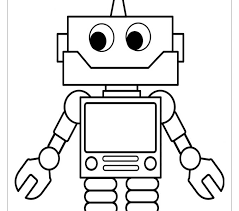 fresh robot coloring 75 coloring pages kids
