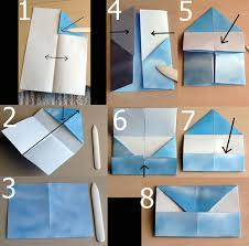 Origami With Letter Size Paper - origami letter folding diy crafts origami
