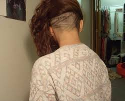 redhair nape shave 35 best undercut images on pinterest hair dos hair cut and