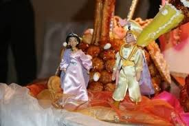 mariage arabe figurine gateau mariage arabe votre heureux photo de mariage