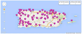 Puerto Rico Map Us by Tree Climbing With Dna Cousins Latino Genealogy