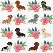 dachshund christmas wrapping paper dachshund fabric wallpaper gift wrap spoonflower