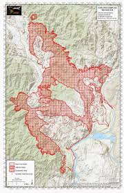 State Of Washington Map by Carlton Complex Fire Largest In Washington State History