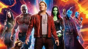 film marvel akan datang gaya karakter guardians of the galaxy yang juga siap beraksi di