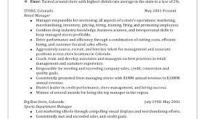 Retail Department Manager Resume Retail Manager Sample Resume Retail Manager Resume Summary By Jane