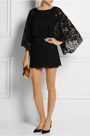 dolce u0026 gabbana lace mini dress in black lyst