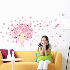 popular butters decoration buy cheap butters decoration lots from top quality pvc art mural wall sticker nice design for kids girl room decor pink fairy