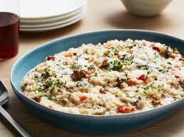 Southern Comfort International Review Dirty Risotto Recipe Giada De Laurentiis Food Network