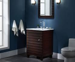 wave 24 inch contemporary bathroom vanity vitreous china vanity top