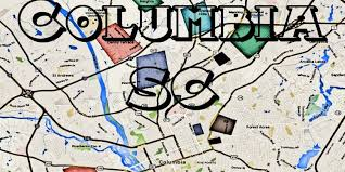 map of columbia south carolina columbia sc gangs and hoods map of south carolina