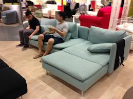 Ikea Kivik Sofa Grey Sofas Center Gray Microfiber Couch With Chaise Mixed White