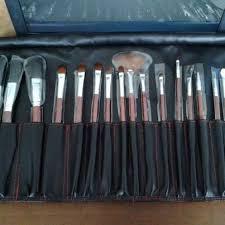 Satu Set Alat Make Up Wardah wardah kuas make up lengkap brush set kosmetik