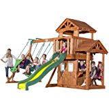 amazon com big backyard magnolia wooden play set toys u0026 games
