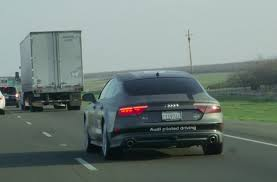 audi a7 self driving audi a7 piloted driving concept completes 560 mile journey to vegas