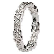 celtic rings celtic rings celtic knot ring set with diamonds