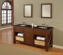 70 Inch Console Table Bathrooms Design Espresso Xtraordinary Spa Double Vanity Sink
