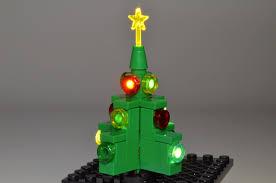brickstuff 2013 limited edition holiday kit lit christmas tree