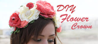 flower crowns make your own diy flower crown