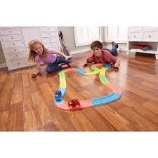 as seen on tv light up track as seen on tv magic tracks bend flex glow racetrack walmart com