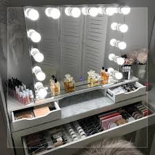 makeup vanity table with lighted mirror ikea bedroom ikea vanity mirror with lights modern dressing table with