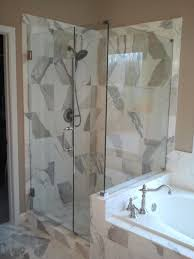 bathroom dazzling frameless shower doors for modern bathroom idea