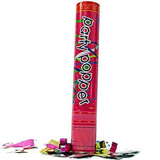 party poppers 12 inch confetti cannons air compressed party poppers 1 pkg pkg