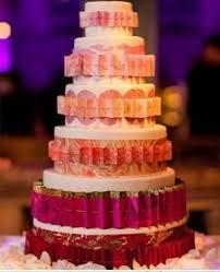Origami Wedding Cake - an origami wedding arabia weddings