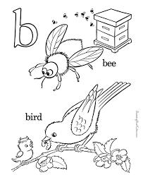 alphabet coloring 004