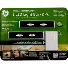 Battery Operated Under Cabinet Lighting Kitchen by Ge Remote Control Led Light 17521 2 Pack Battery Under Cabinet