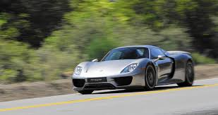 918 spyder is porsche u0027s electrified future la times