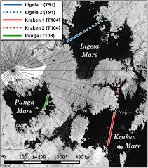 Map Of Ut Austin by Calm Lakes On Titan Could Mean Smooth Landing For Future Space