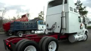 2001 international 9400i tractor truck tandem detroit diesel youtube