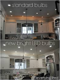 Recessed Lights Kitchen Brightest Recessed Lighting For Kitchen Cleverly Inspired