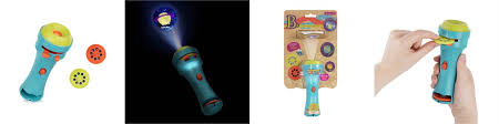 B Light Me To The Moon Projector Flashlight Sea By B Toys Toys