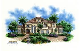 la playa iv home plan weber design group