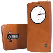 Jual Leather jual nillkin qin leather circle lg g4 brown tokoneme