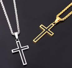 wholesale cross necklace pendants images Classic cross necklace pendant god of gifts jpg