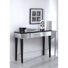 Mirror Console Table Romano Mirrored Console Table Co Uk Kitchen Home