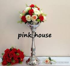 Tall Wedding Vases For Sale Distributors Of Discount Silver Vases For Wedding Centerpieces