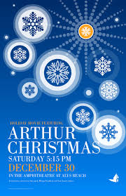 holiday movie featuring arthur christmas alys beach
