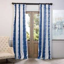 blue window treatments the home depot