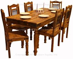 Jali Dining Table And Chairs Sheesham Dining Table And Chairs 4023 Sheesham Chairs Furniture