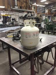 Propane Tank Fire Pit I Fabricated A Vw Van Fire Pit Album On Imgur