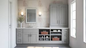 dove grey kitchen cabinets what colour walls shaker pantry cabinets in dove gray kitchen the home